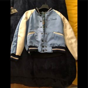 Coach reversible bomber jacket